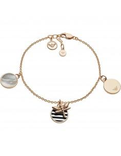 Emporio Armani Bracciale donna Drangonfly. Bracciale in argento di colore rose gold