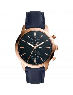 Fossil orologio uomo Townsman. In acciaio inossidabile di colore rose gold FS5436
