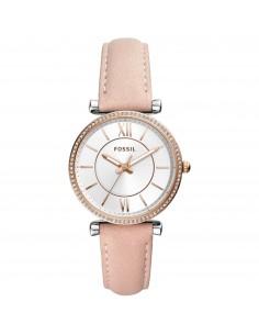 Fossil orologio donna Carlie acciaio inossidabile colore silver finitura lucida