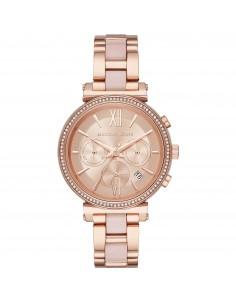 Michael Kors orologio donna Sofie. In acciaio inossidabile di colore rose gold. MK6560