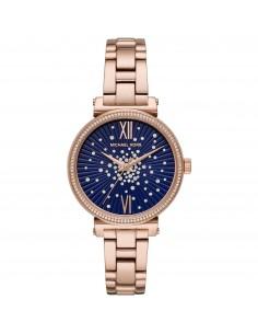 Michael Kors orologio donna Sofie. Quadrante di colore blu. MK3971