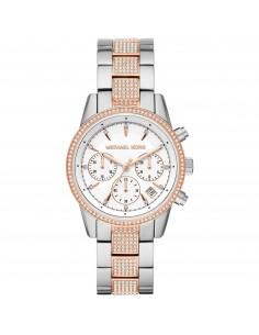 Michael Kors orologio donna Ritz. In acciaio inossidabile bicolor MK6651
