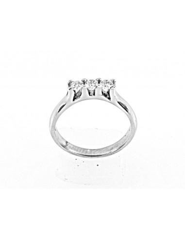 anello trilogy Hong Kong diamanti kt. 0,39 Opera Italiana Jewellery