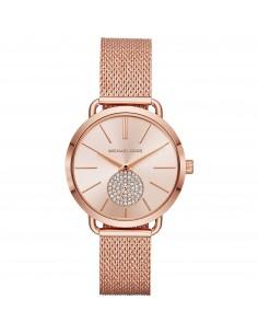 Michael Kors orologio donna Portia. In acciaio inossidabile di colore rose gold MK3845