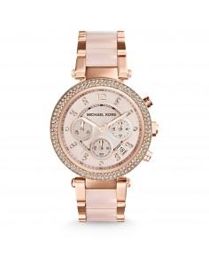 Michael Kors orologio donna Parker.In acciaio inossidabile di colore rose?. MK5896