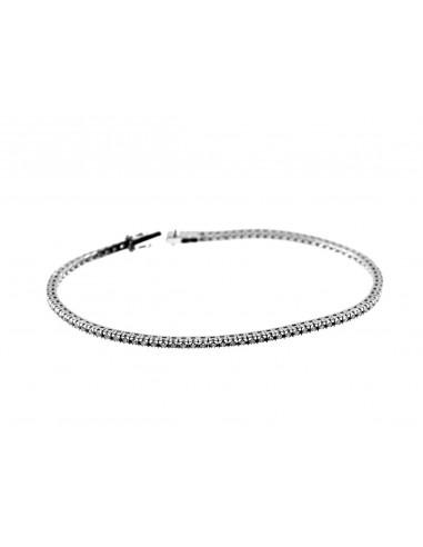 bracciale tennis diamanti kt. 3,00 Opera Italiana Jewellery