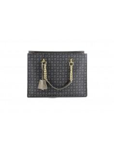 Pollini Shopping Bag Heritage Nero/Bronzo - TE8406PP02Q1100G