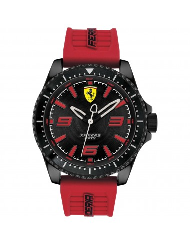 Orologio Ferrari xxkers nero e rosso - FER0830498