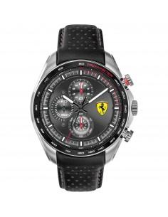 Orologio Ferrari speedracer nero con quadrante grigio - FER0830648
