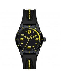 Orologio Ferrari redrev nero con dettagli gialli - FER0860009