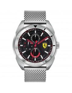 Orologio Ferrari forza acciaio con quadrante nero - FER0830637