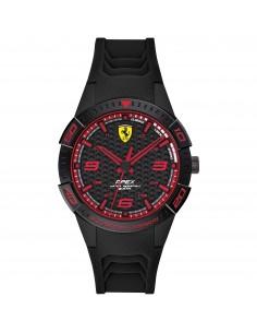 Orologio Ferrari apex nero con dettagli rossi - FER0840032
