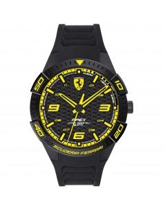 Orologio Ferrari apex nero con dettagli gialli - FER0830663