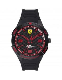 Orologio Ferrari apex nero con dettagli rossi - FER0830662