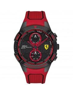 Orologio Ferrari apex nero e rosso - FER0830639