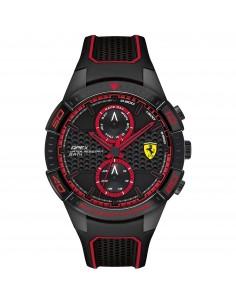 Orologio Ferrari apex nero con dettagli rossi - FER0830634
