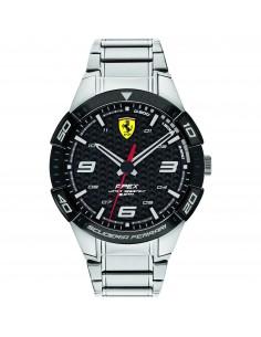 Orologio Ferrari apex acciaio e nero - FER0830641