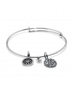 bracciale CHRYSALIS LIFE protezione - silver