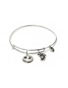 bracciale CHRYSALIS FRIENDS & FAMILY neonato - silver