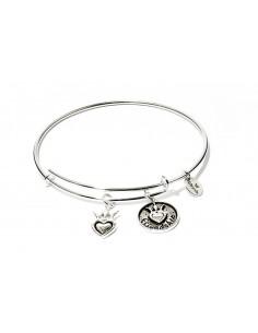 bracciale CHRYSALIS FRIENDS & FAMILY amicizia - silver