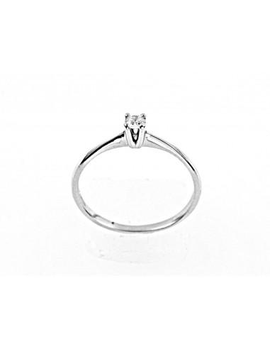 eba17739d109 anillo de diamante solitario BARIkt. 0.28 Opera Italiana Jewellery
