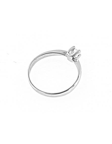 anello solitario Palermo diamante kt. 0,28 Opera Italiana Jewellery