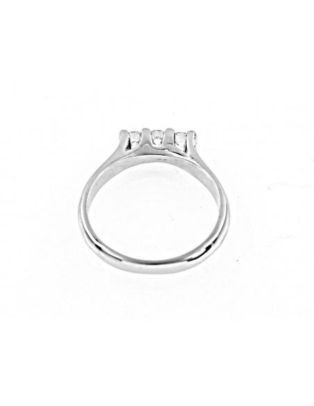 anello trilogy Hong Kong diamanti kt. 0,60 Opera Italiana Jewellery