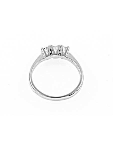 anello trilogy Sidney diamanti kt. 0,60 Opera Italiana Jewellery