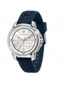 Orologio Maserati successo blu con quadrante acciaio e bianco