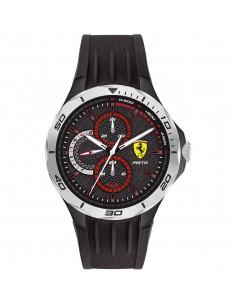 Orologio Ferrari pista nero e cromo - FER0830722