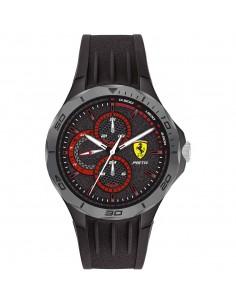 Orologio Ferrari pista nero e grigio - FER0830725