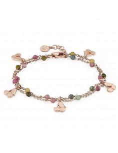 NOMINATION Bracciale argento rosato MON AMOUR Ciliegie