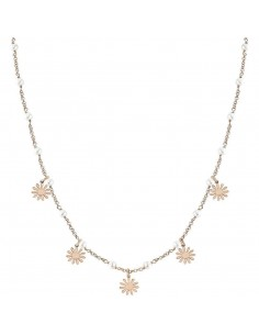 NOMINATION Collana argento rosato con perle MON AMOUR Margherita