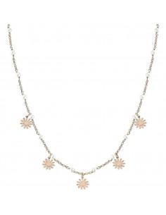 NOMINATION Collana argento rosato con perle MON AMOUR Mixed