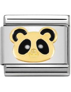 NOMINATION Composable Classic Acciaio - Oro 750 Panda