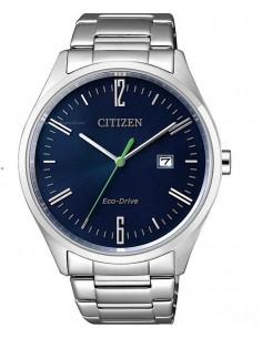 CITIZEN orologio uomo acciaio con cassa blu