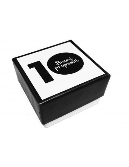 anello 10 Buoni Propositi DA OGGI chiudo con lo stress