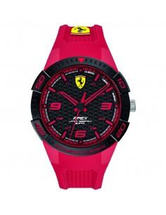 Orologio Ferrari Apex Uomo Solo Tempo in ABS e cinturino in silicone rosso FER0830747
