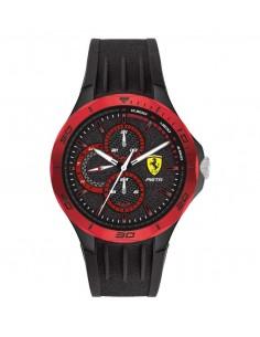 Orologio Ferrari pista nero e rosso - FER0830721