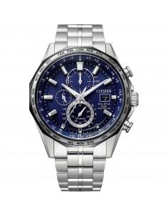 Citizen Orologio Uomo Cronografo EcoDrive H800 Blu in acciaio AT8218-81L
