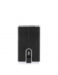 Piquadro Compact Wallet Nero