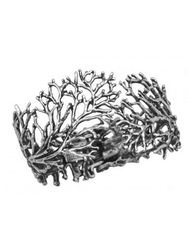 anello argento CORAL GRANDE Raspini gioielli