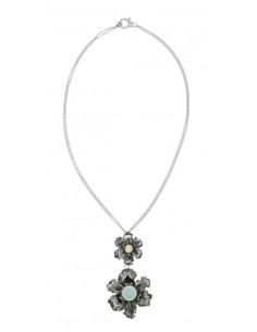 Collana argento con pendente Iris Giovanni RASPINI