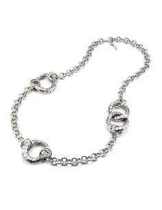 Collana argento Longuette Coccodrillo grande Giovanni RASPINI