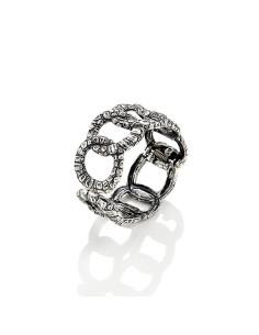 Bracciale argento bangle Coccodrillo Giovanni RASPINI