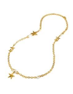 Collana argento bagno d'oro Longuette Marine Giovanni RASPINI