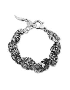Bracciale argento Piume Giovanni RASPINI