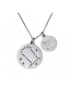 collana CHRYSALIS ZODIACO gemelli - silver