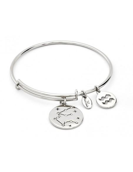 bracciale CHRYSALIS ZODIACO acquario - silver