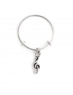 anello CHRYSALIS ENERGIA musica - silver